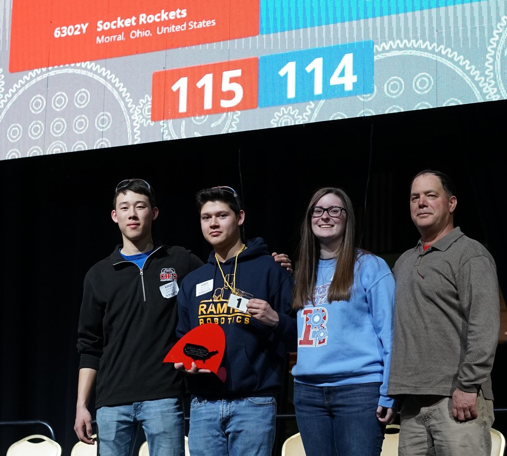 2018 Create U.S. Open Robotics Champions