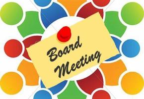 Board Meeting - March 22 @ 6:30