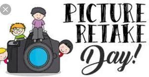 Elementary Picture Retake Day - March 11