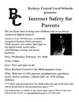 Free Internet Safety Presentation for Parents