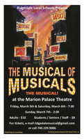 The Musical of Musicals Tickets on Sale Now
