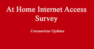 At Home Internet Access Survey