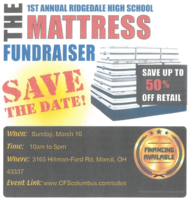 1st Annual Mattress Fundraiser
