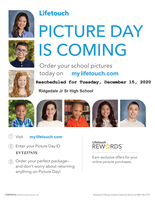 Jr./Sr. High Picture Day Rescheduled