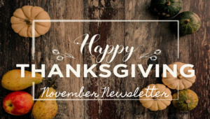 November Jr./Sr. High Newsletter