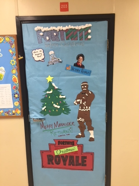 Mrs. Crease's Door, 3rd place