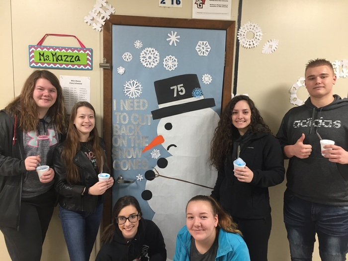 Ms. Mazza's Door, 2nd place