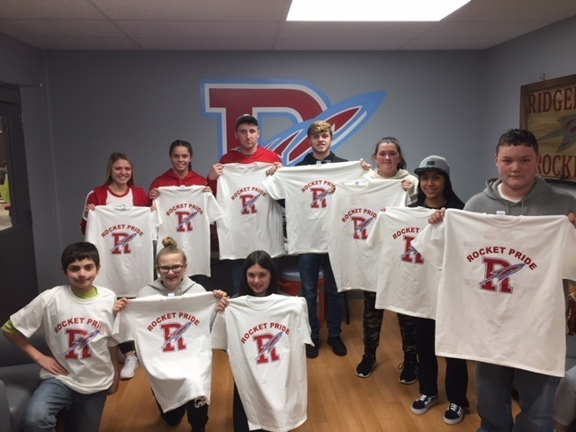 Ridgedale, November students of the month