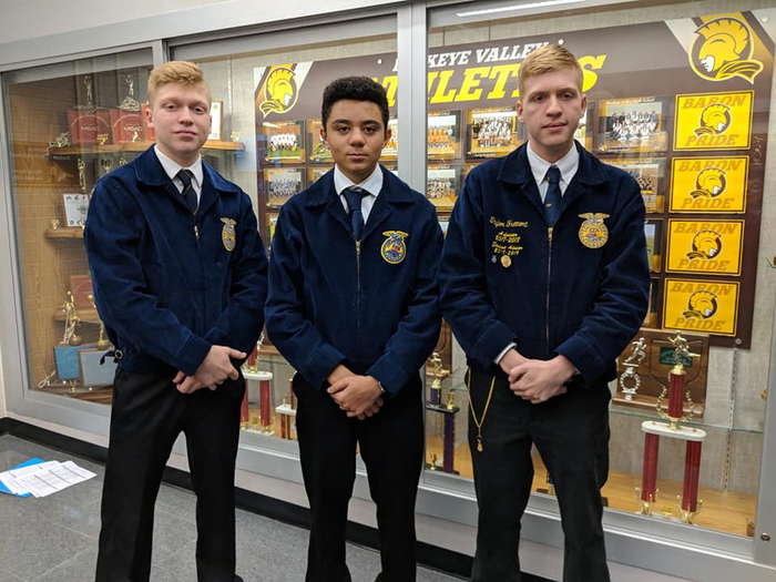 Students in FFA