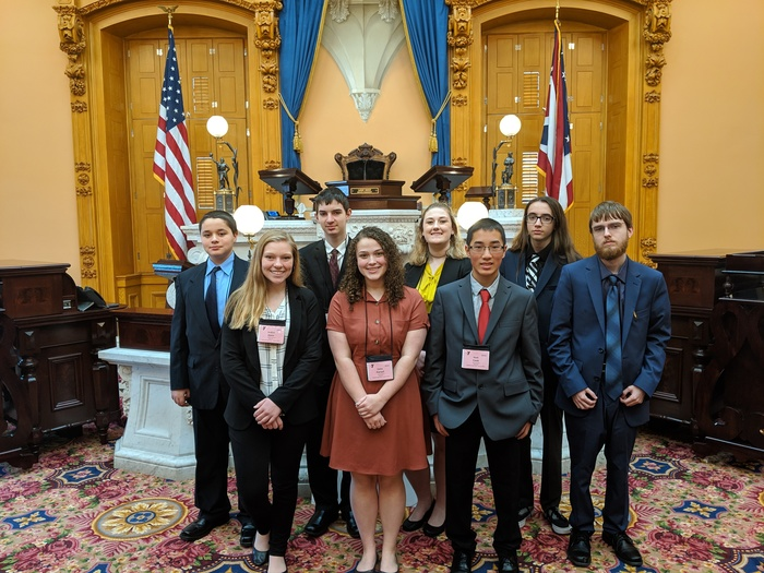 Youth in Government in Senate Chambers