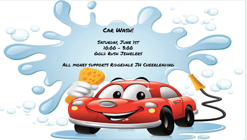 Car Wash Saturday June 1