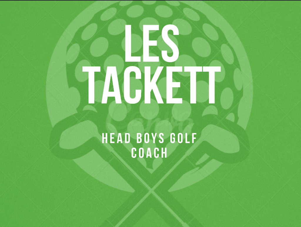Les Tackett Golf Coach