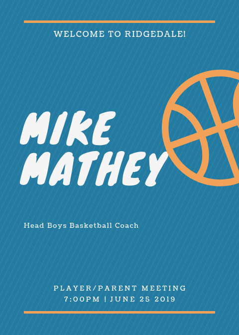 Mike Mathey Basketball Coach