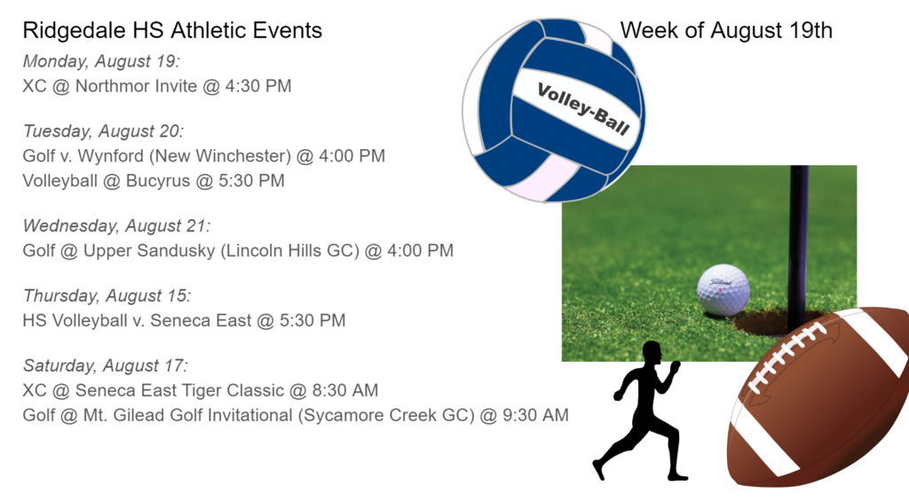 HS Schedule of Events