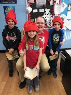Mr. Staton's reading elves