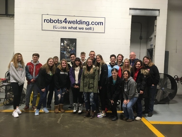RHS Senior Success Class touring Robot Worx