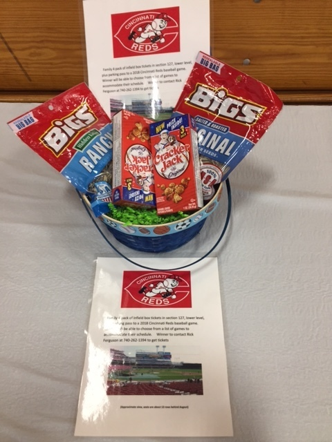 Reds Basket 4 tickets to a game
