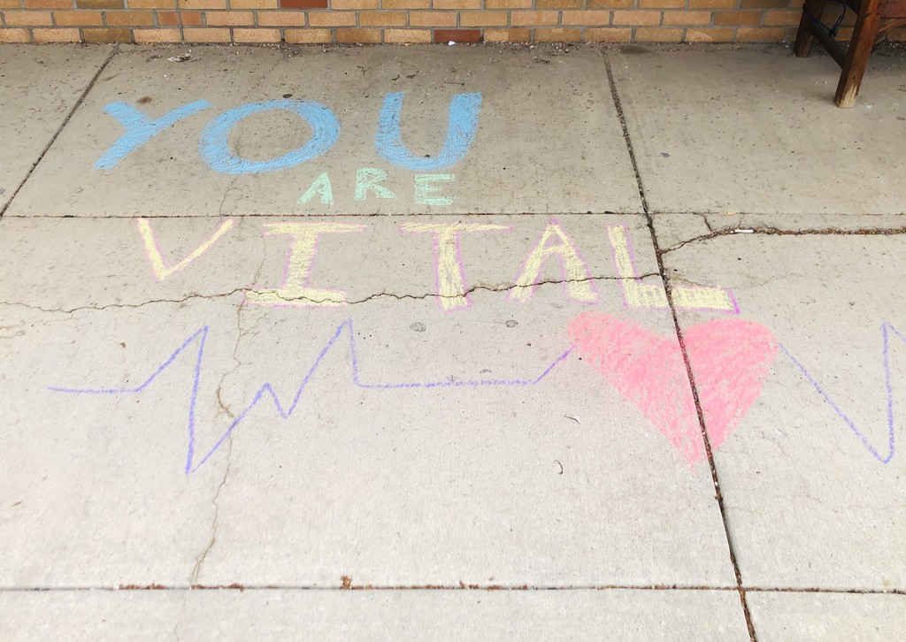 You are vital chalk